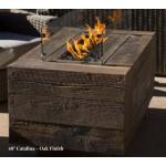 "48"" Catalina Wood Fire Pit - Oak"
