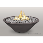 "48"" Cazo Concrete Gas Fire Bowl - Chestnut"