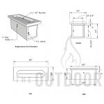 "60"" Ramona Concrete Fire Table Spec Sheet"