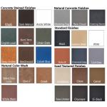GFRC Concrete Color Finish Samples