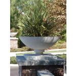 "Frank Lloyd Wright 28"" Allen House Vase - Limestone"