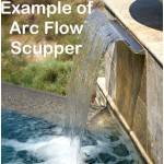 Arc Flow Scupper Example