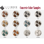 Actual Concrete Fire Bowl Color Samples