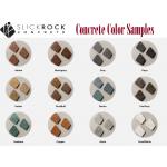 Actual Concrete Fire Bowl Color Samples
