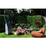 Bromic Portable Gas Heater in Yard