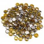 Caramel Fire Glass Beads Top