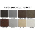 Cast Stone Honed Finishes