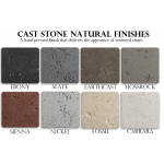 Cast Stone Natural Finishes