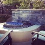 """1/2"""" Cobalt Blue Fire Glass in fire bowl"""