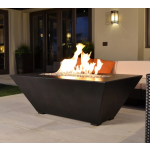 "60"" Burbank Fire Table - Dark Walnut Finish"