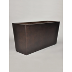 "24"" x 16"" x 24"" Kona Rectangular Planter - Burnt Terra Cotta"