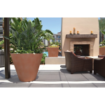 "Geo Round 42"" x 36"" and Kona 36"" Square Planters - Terra TC"