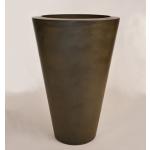 "20"" x 30"" Essex Vase Planter Bowl - Urban Slate"