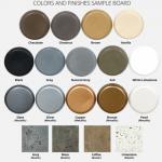 NEW! GFRC Color Sample Board