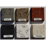 Actual GFRC Concrete Textured Samples