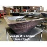 NOTE: EXAMPLE of Hammered Copper Finish