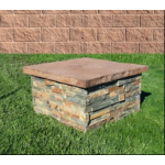 Concrete Fire Bowl Pedestal