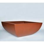 "30"" x 30"" Legacy Square Concrete Planter Bowl - Sequoia"
