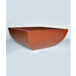 "42"" x 42"" Legacy Square Concrete Planter Bowl - Sequoia"