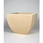 "30"" Grenada Small Square Planter - Autumn Beige"