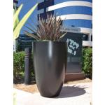 Luxe Tall Planter - Dark Walnut