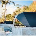"24"" Maya Fire and Water Bowl Lifestyle - Black"