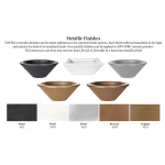 New! Concrete GFRC Metallic Finishes