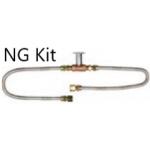Natural Gas Fire Pit Kit - Includes Key Valve