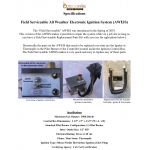 NEW Field Serviceable - All Weather Electronic Ignition System (AWEIS)
