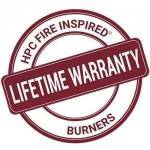 Now with a Lifetime Warranty on All Burners!