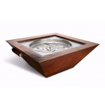 "40"" Sedona Copper Fire and Water Bowl"