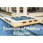Radius Scupper Example