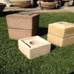 """Concrete Pedestal Square 30"""""""