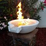 FIRE ON WATER Example - Sand