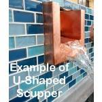 U Shaped Scupper Example