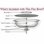 What's Included with Fire Bowl