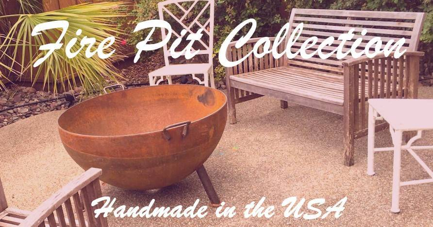 Wood Fire Pit - American Made