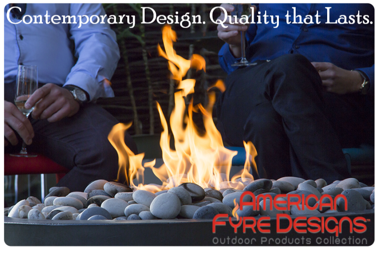 American Fyre Designs Fire Bowl Lifestyle Photo