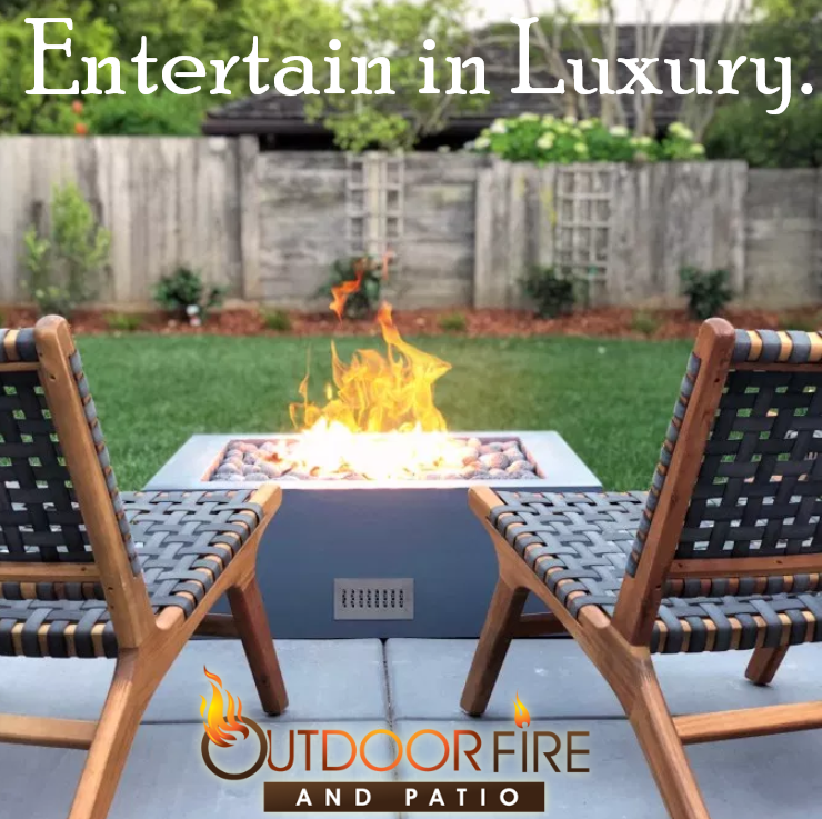 Entertain in Luxury - Quad Fire Pit Table