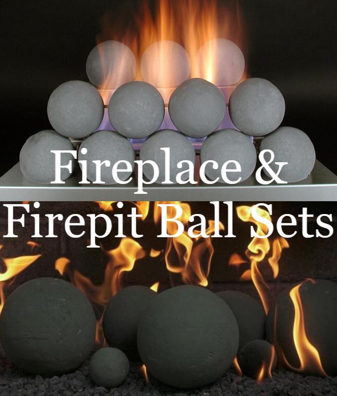 Fireplace Ball Sets & Firepit Ball Sets