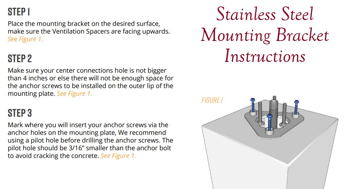Mounting Bracket Install Guide