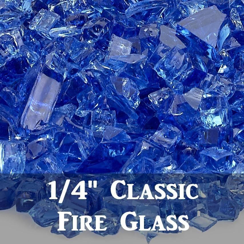 """1/4"""" Classic Fire Glass"""