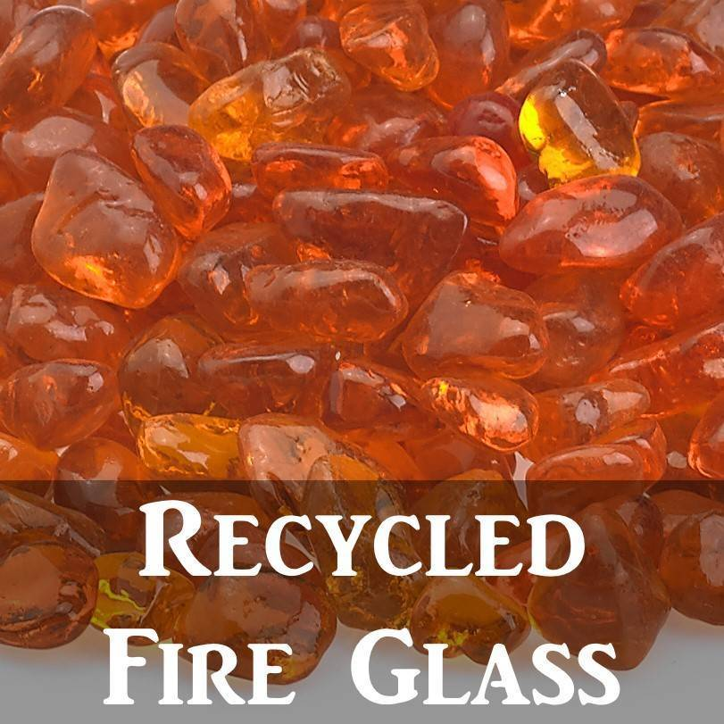 Recycled Fire Glass