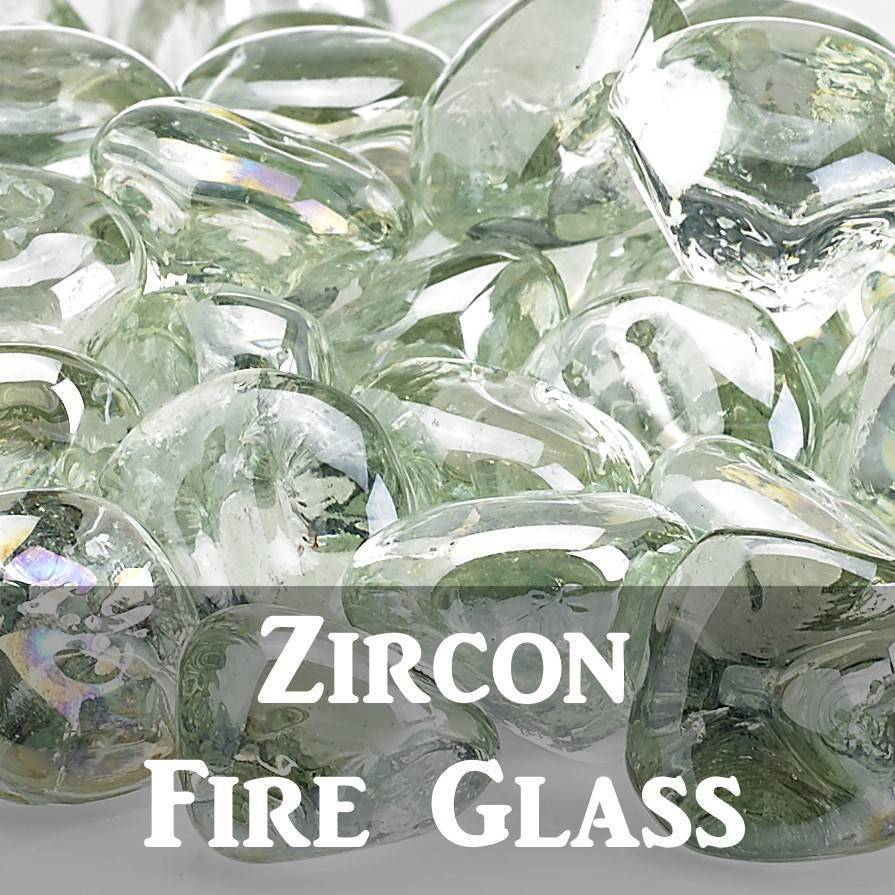 Zircon Fire Glass