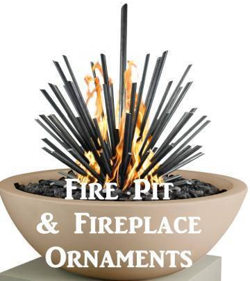 Fire Pit & Fireplace Ornaments