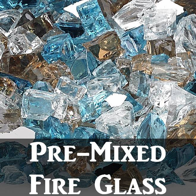 Pre-Mixed Fire Glass