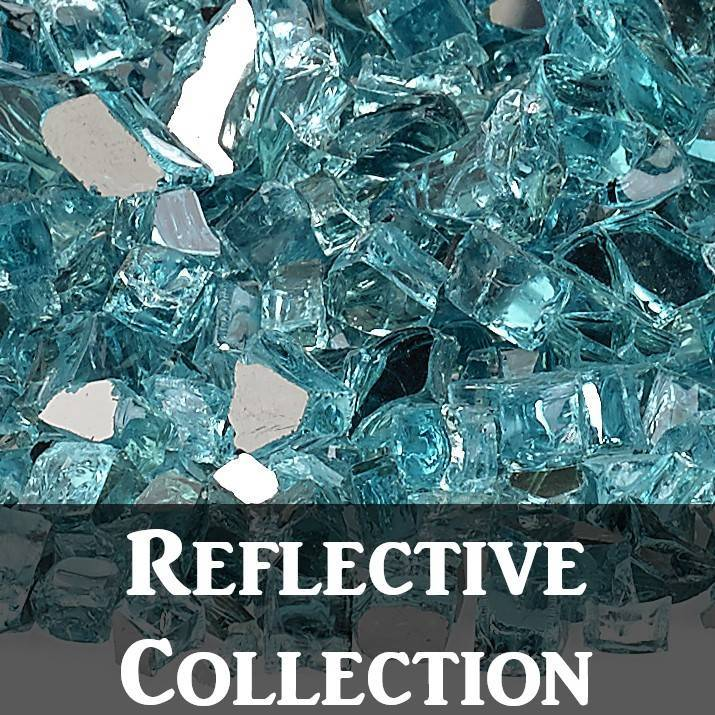 Reflective Fire Glass
